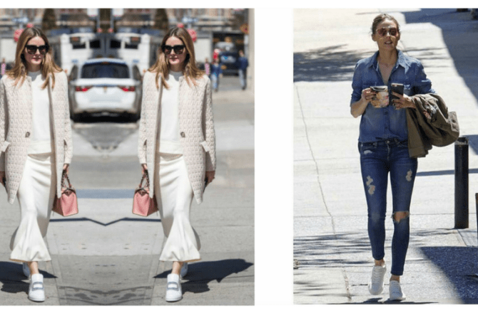 How to Pair White Sneakers with your Favourite Eyewear