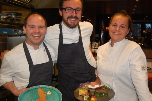 Chef Marleen & team