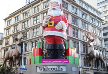 I interviewed the Whitcoulls Santa...