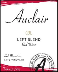 Auclair Winery Left Blend