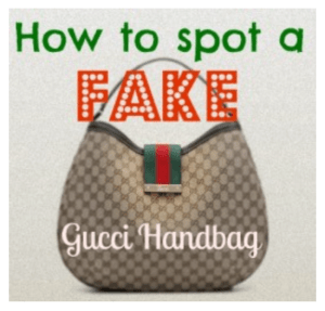 How To Tell a Fake Gucci Bag From a Real One