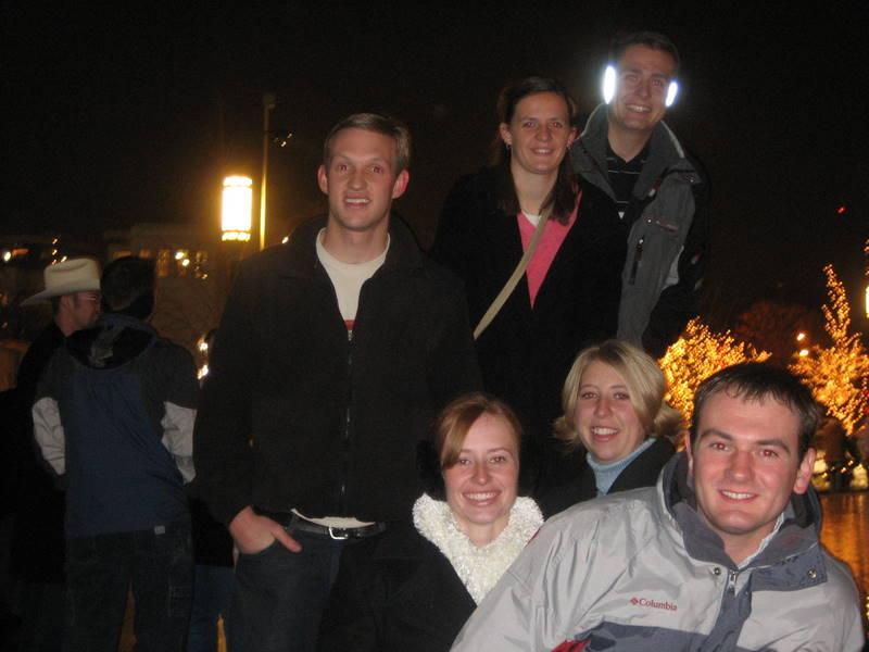 German, Linda, Kasey, Audrey, Shae, and Jeremy