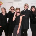 Allie, LInda, Audrey, Shae, and Camille (Secret Agents)