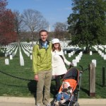 The family at Arlington.