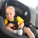 This is how Cooper looked after 5 hours in the car. We turned his carseat to forward facing for the trip, because unlike the American Academy of Pediatrics I realize there are other factors involved in my child's health than guarding against potential car wrecks.