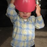 He also tried to wear bowls as hats.