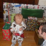 Unwrapping gifts: a good destructive outlet.