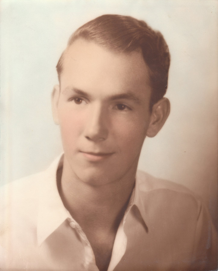 Noel's grandpa when he was younger.