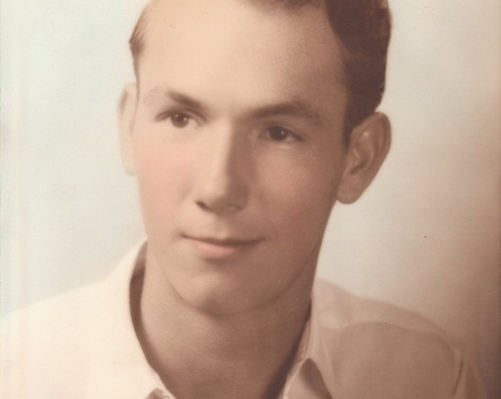 Noel's grandpa when he was younger.