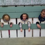 The family in the stocks.