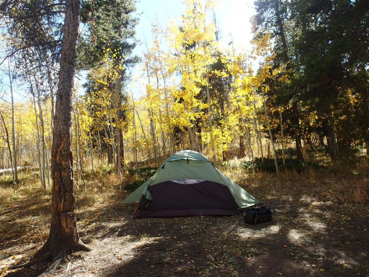 We decided to try our first fall camping trip as a family. It was a little chilly, but absolutely gorgeous.