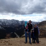 On the drive home we stopped and hiked a short part of the Continental Divide.