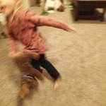 The human blur