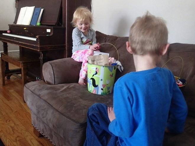 Easter buckets.