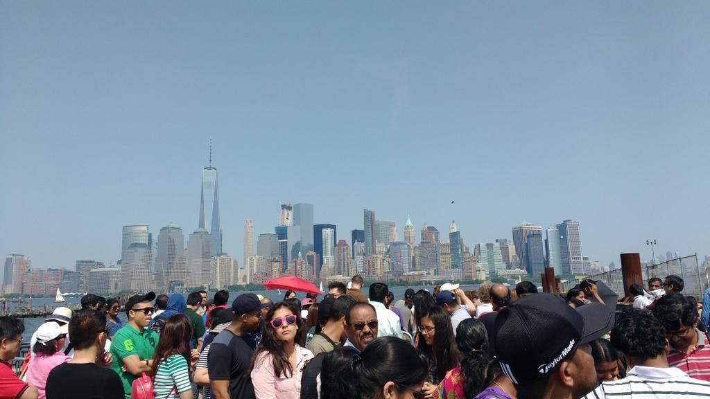 This basically summarizes my impression of New York.