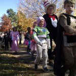 Cooper's school costume parade.