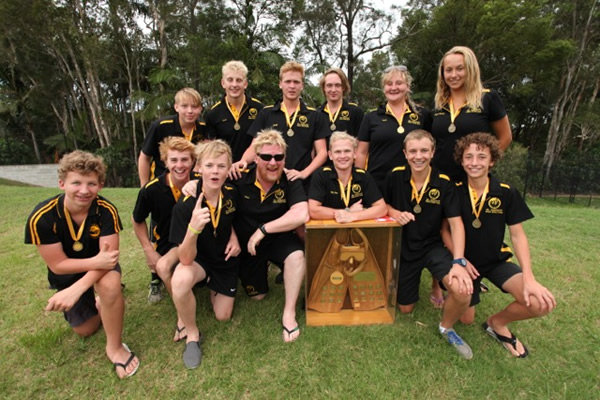 2014 Australian U19 division champions, Western Australia [Photo: Tyrone Canning, Mako Productions]