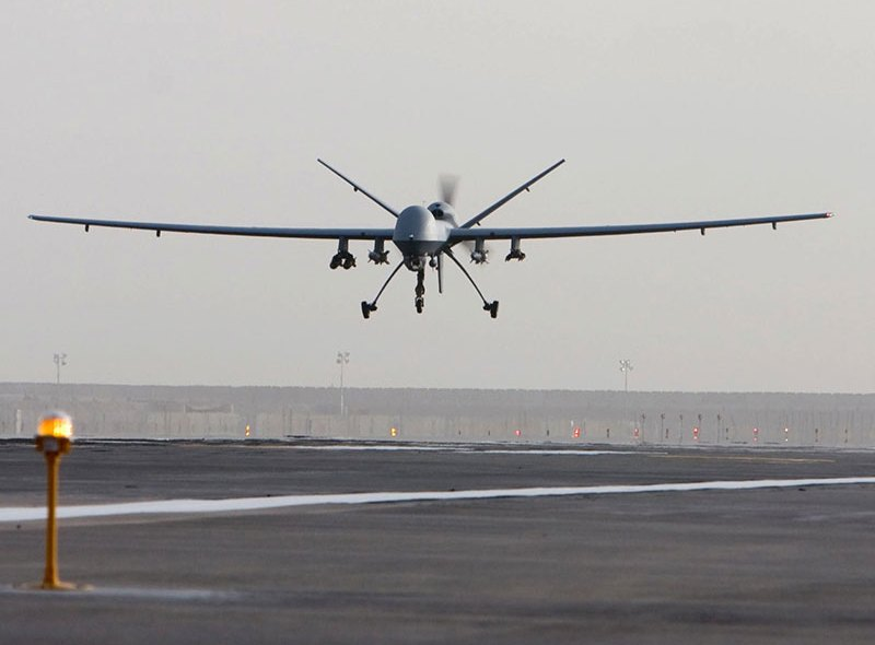 Amerykańskie drony będą mieć własne lotnisko