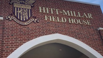 Providing Entrance Signage for Fishburne's Hitt-Millar Field House