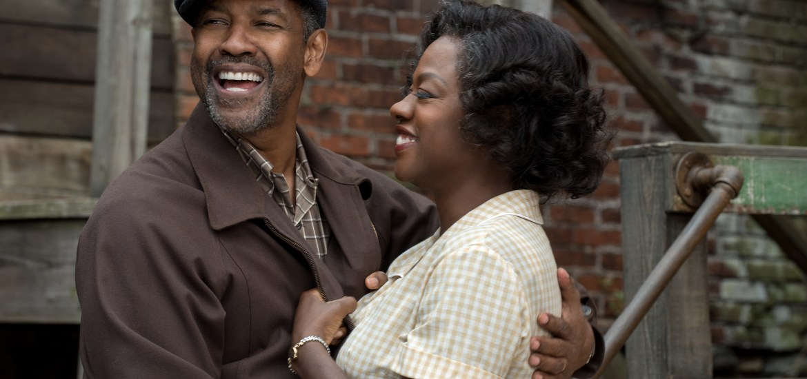 Denzel Washington plays Troy Maxson and Viola Davis plays Rose Maxson in Fences from Paramount Pictures. Directed by Denzel Washington from a screenplay by August Wilson.