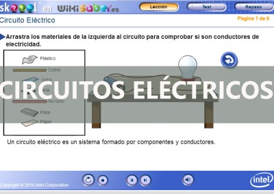 Simulador Circuito Eléctrico