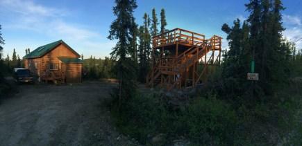 Logan's Chalet and Aurora Viewing Platform