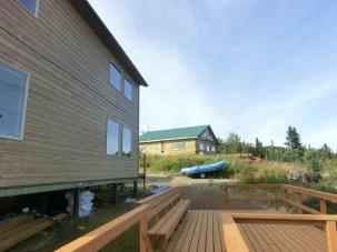 Cedar Lodge (foreground) and Main Lodge
