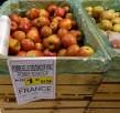 Boskop-Äpfel im Supermarkt