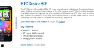 Desire HD 'Coming Soon' to Crazy John's