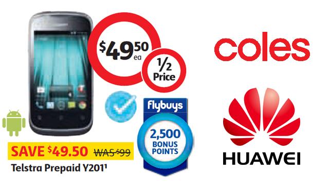 Huawei Ascend Y201 - Coles