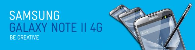 Telstra Galaxy Note II