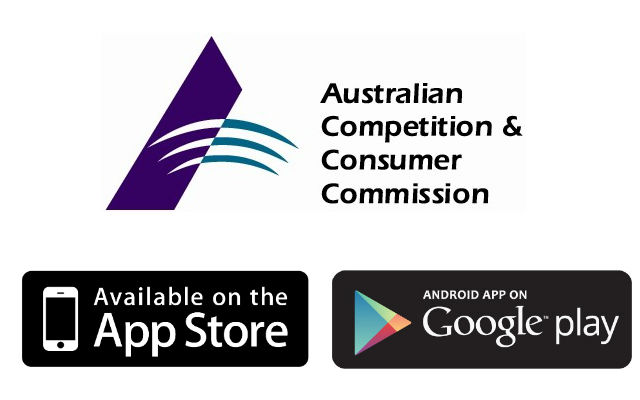 ACCC - Google Play - App Store
