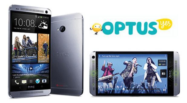 HTC One Optus