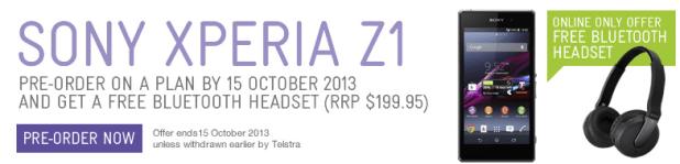 Xperia Z1 Telstra