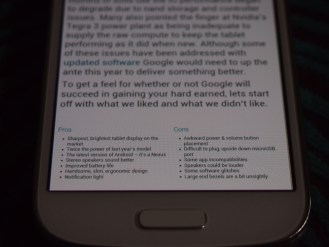 Small text legibility