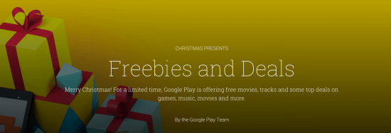 Merry Christmas Google Play