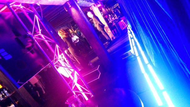 Stage lighting at the AIMIA awards