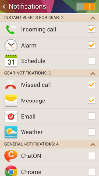 More notification controls (2/3)