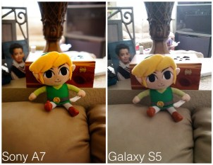 Sony A7 DSLR vs Galaxy S5