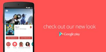 Material Design Google Play - Movies