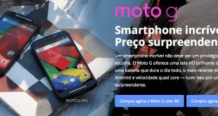 Moto G 4G Brazil