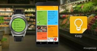 Android Wear - Google Keep