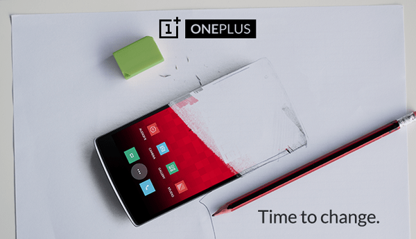OnePlus - Time To Change