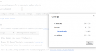 Chrome OS is getting better storage usage information and you can try it out now