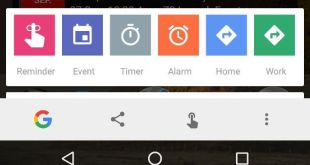 Google Now on Tap (while it's still called that) is showing new quick-add options