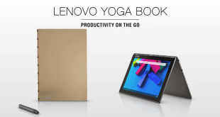 Lenovo Yoga Book gives you Android on a notebook style clamshell with a stylus