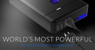 PLUG is a 48,000mAh battery pack that's designed to power almost anything