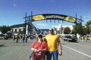 Zoe B and Bro at Dover Spdway