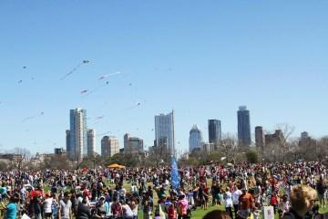 ABC Zilker Kite Festival Austin fun family friendly kite workshop food trailer cart
