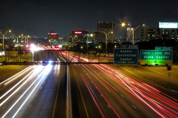 Traffic will look nothing like this during SXSW. Photo: Flickr user Matthew Rutledge, creative commons licensed.